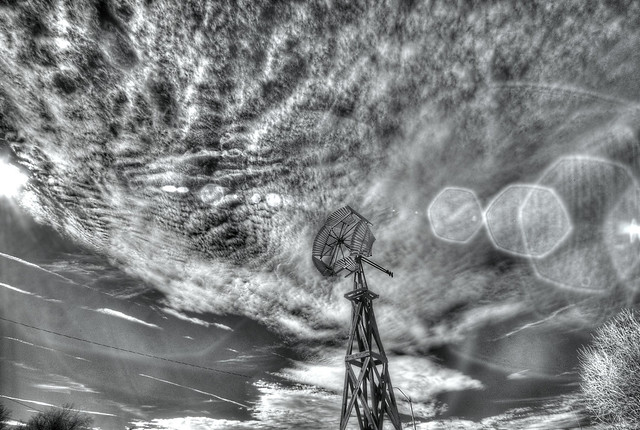 windmill in IR