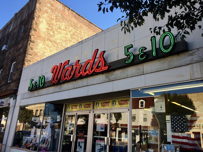 Ward's 5 & 10 Closter NJ - Retro Roadmap