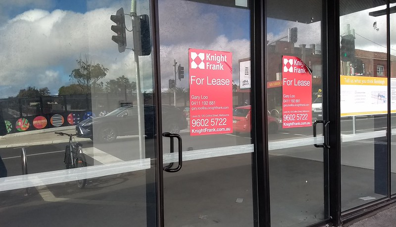 Retail space at Bentleigh station