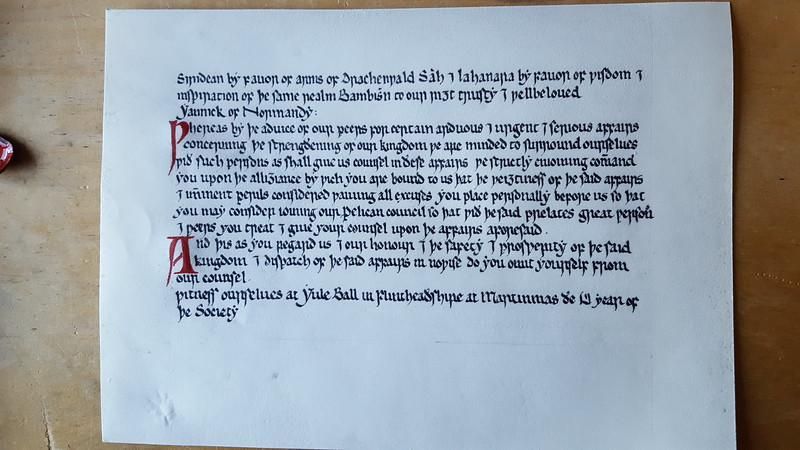 Finished writ Yannick of Normandy