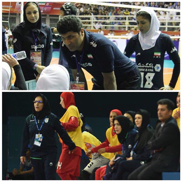 Male coaches can train women teams in Iran