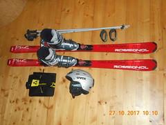 Carving lyže Rossignol 162cm s vázáním a botama - titulní fotka