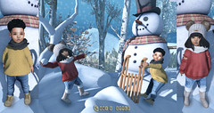 Don't Cry Snowman Ft: Baby Faces, Toddleedoo, p.o.s.e, Little Miss, Enchantique and more