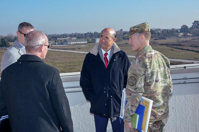 U.S. Ambassador to Italy visits USAG Italy