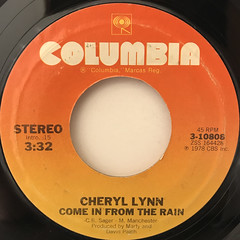 CHERYL LYNN:GOT TO BE REAL(LABEL SIDE-B)