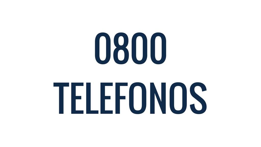 0800 telefonos