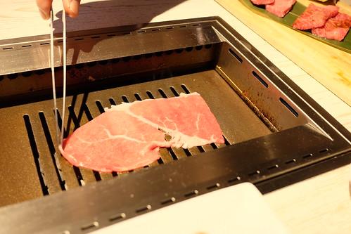 特選赤身肉の焼きしゃぶ