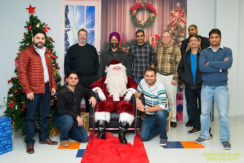 Santa at Teecs-132