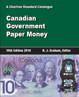 Canadian Government Paper Money cover