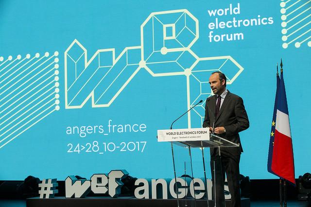 WEF,  web summit, Édouard Philippe