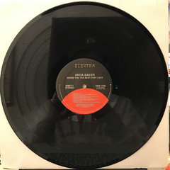 ANITA BAKER:GIVING YOU THE BEST THAT I GOT(RECORD SIDE-A)