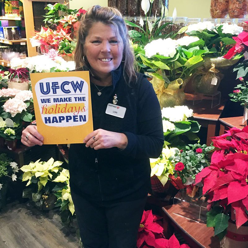 UFCW members make the holidays happen