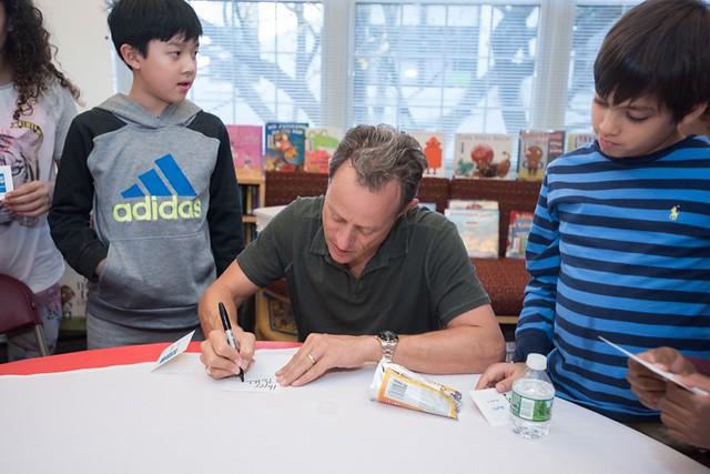 LD Stuart Gibbs Author Visit 2017