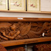 Hand carved wall  display reduced E400