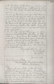 1890 Leach In God We Trust Letter page 2