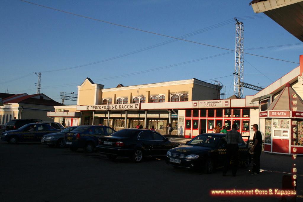 Город Подольск фотографии сделанные как днем, так и вечером Фотографии Владимира Мокрова