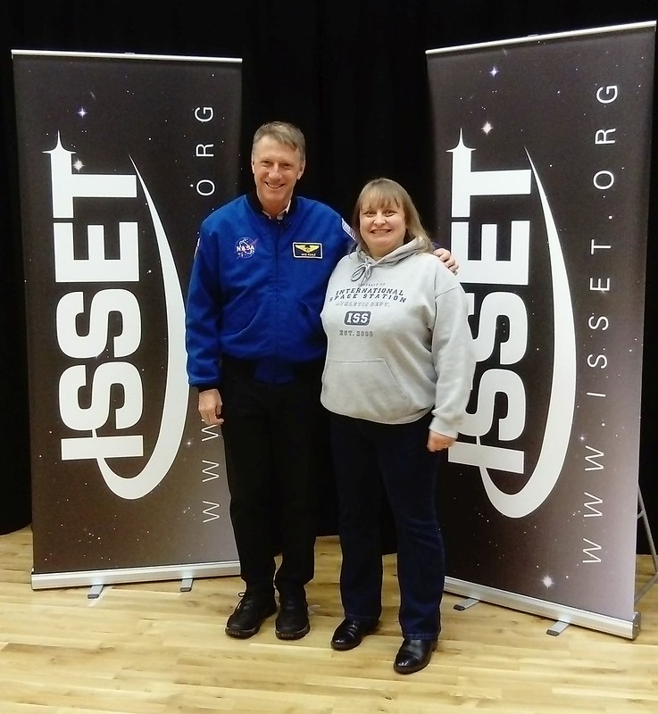 Me With Michael Foale 13Nov17