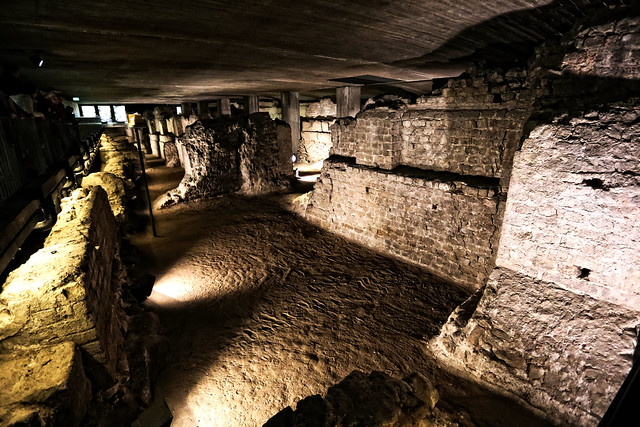 Cologne, The Praetorium, 03, in the basement of the present Townhall
