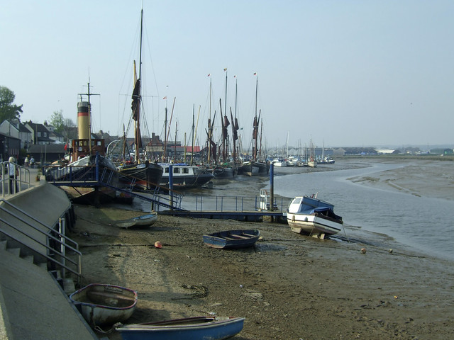 The quay at Maldon
