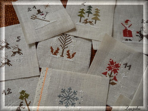 The little stitcher - advent calendar (3)