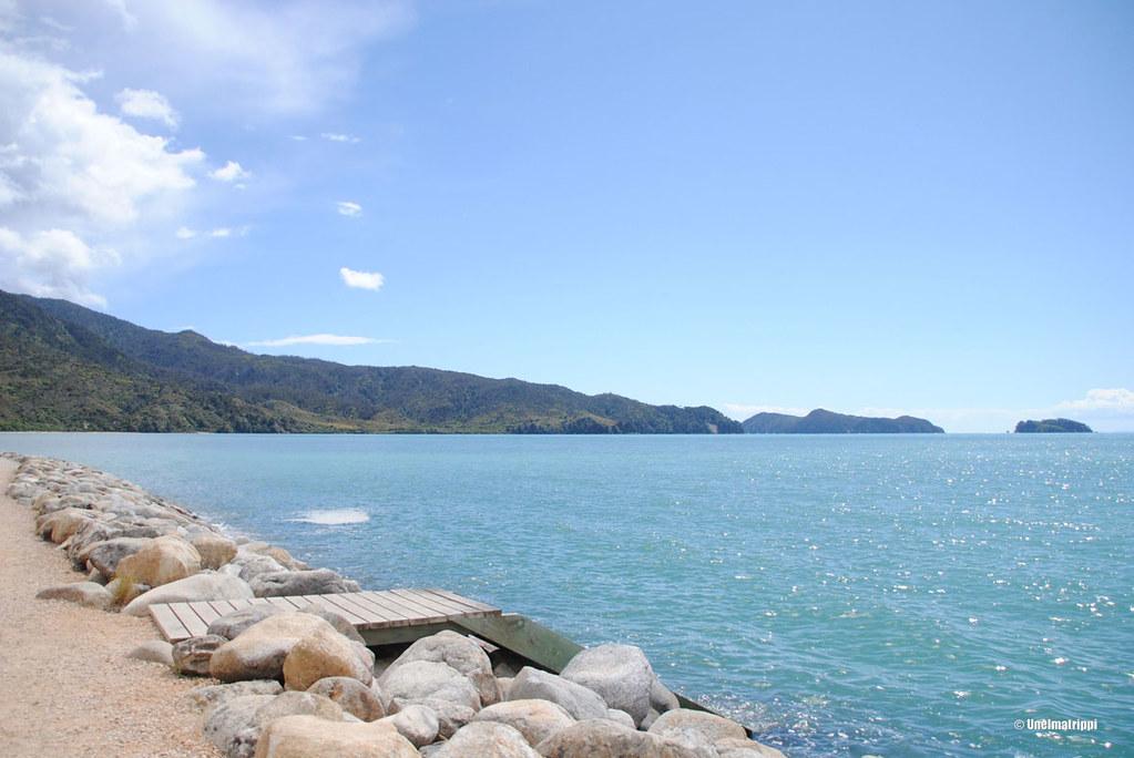 Järven rannalla Nelsonissa, Uusi-Seelanti