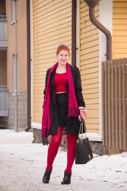 Päivän Asu muotibloggaaja oma tyyli