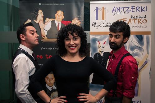 XI Festival de Teatro Amateur de Alegría-Dulantzi 2017. COROCOTTA Teatro