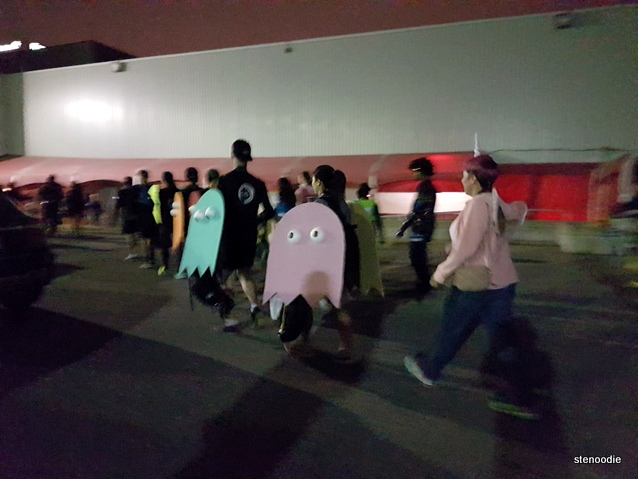 Pac Man group costume