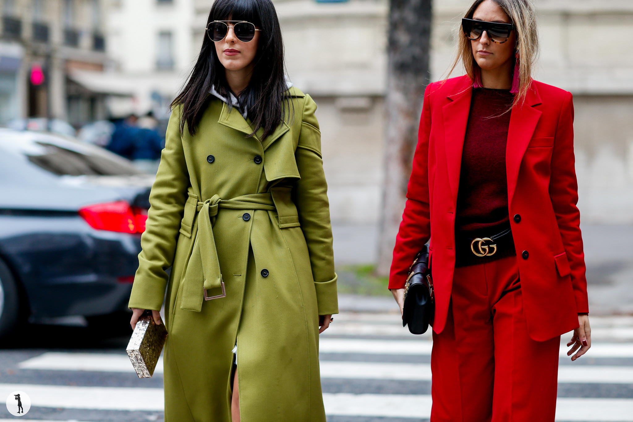 Laura Comolli and Elisa Taviti - Paris Fashion Week SS18 (2)