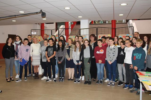 Journée nationale « Non au harcèlement »: la rectrice s'est rendue au collège Hector Berlioz