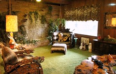 The Jungle Room - A visit to Graceland - the home of Elvis Presley