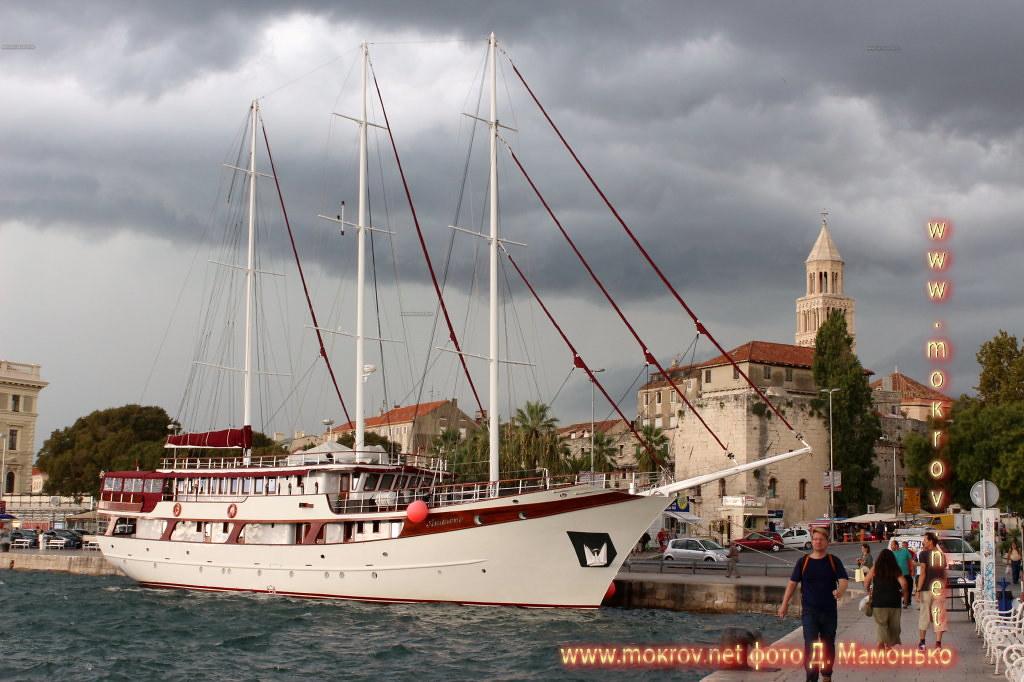 Сплит — город в Хорватии живописные жанровые фотографии
