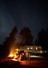 Last campfire of the RV season for us!