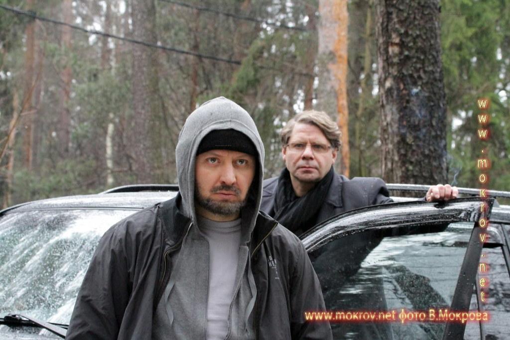 На съемках Телесериал «Карпов. Сезон третий» портрет
