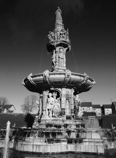 Doulton Fountain, Glasgow.  (9N9A1322)
