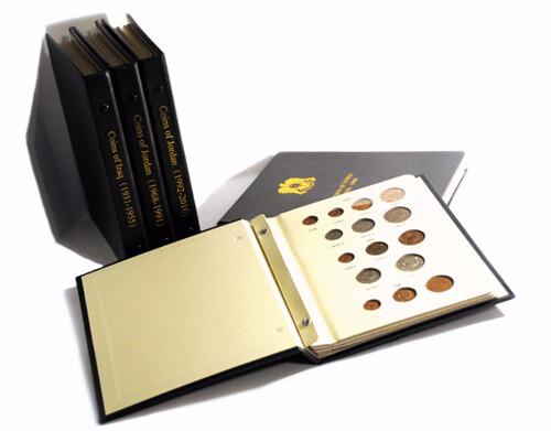 Arabic coin albums