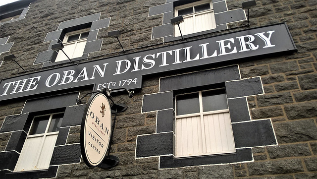 Oban whiskey distillery, Scotland
