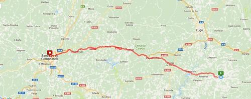 Overview of Sarria-Santiago closer