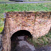 A lime kiln you can enter, the bridge is over the mouth
