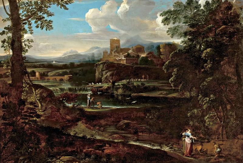 Giovanni F. Grimaldi - Classical landscape (c.1650)