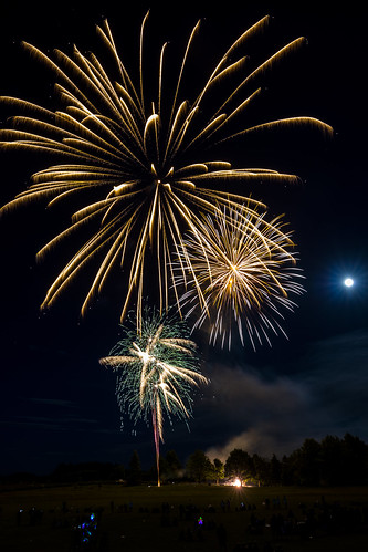 Weston School Fireworks 2017