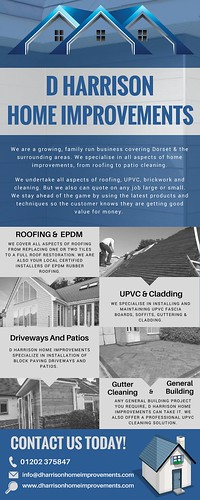 D Harrison Home Improvement- Flat Roof Repair