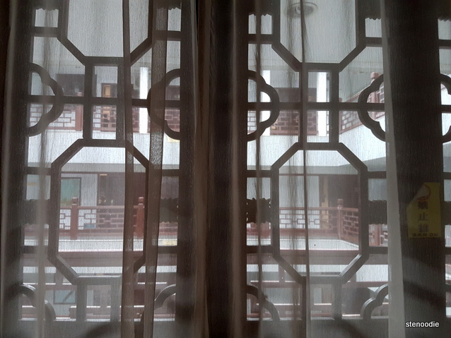 Fengting International Hotel room window
