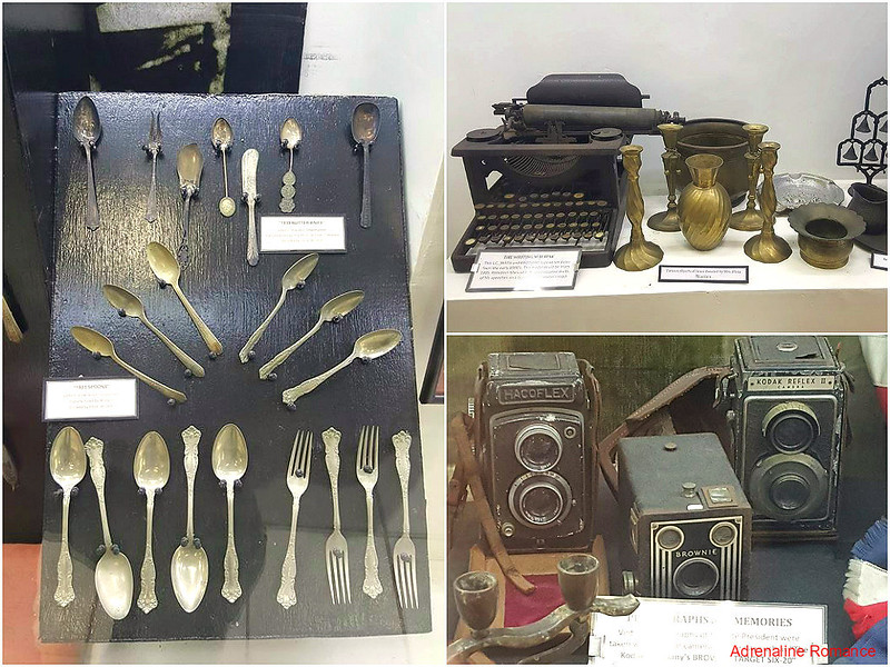 Artifacts in the Roxas City Museum