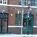 Snow in the Jewellery Quarter - Caroline Street - Otto - Wood Fired Pizza