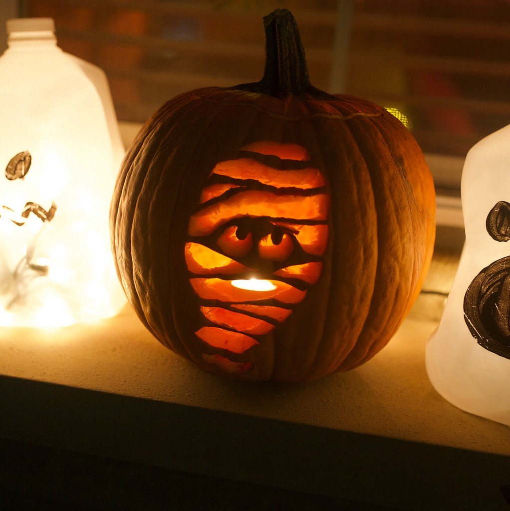 mummy pumpkin