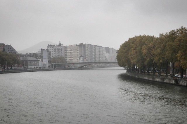 Rainy day in Liege