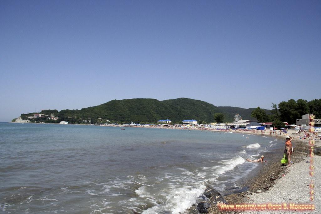Город Архипо-Осиповка пляжи.