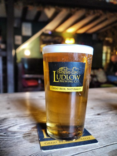 Ludlow Gold at the Boar's Head
