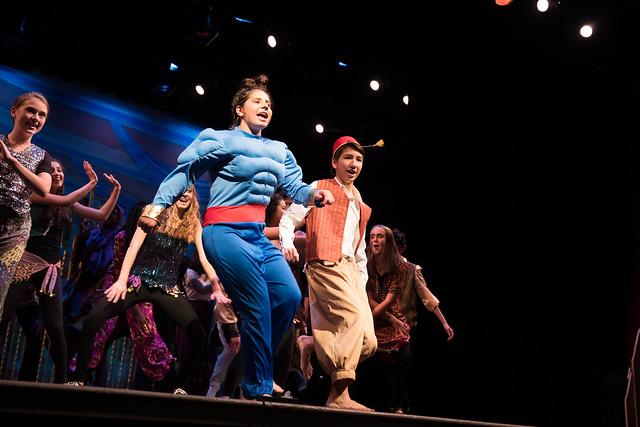Freshman Musical - Aladdin Jr.